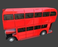 Routmaster bus by DennisH2010 made in Blender 2.66a _5