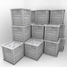 Destructible box for Blender