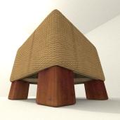 Stool basket by DennisH2010 download on blendswap Blender 268a_2