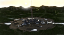 city concept render