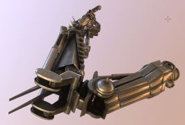 Roboter arms Blender-2.82a_Low-Poly-modeled-textured-rigged-and-animated-in-Blender-3d (4)