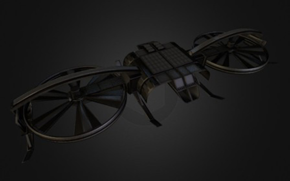 AR-Copter Update for Blender Game Engine
