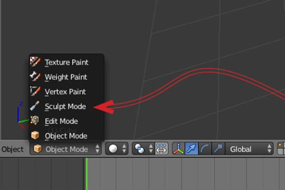How to created, save and load in a self-made brush in Blender_1
