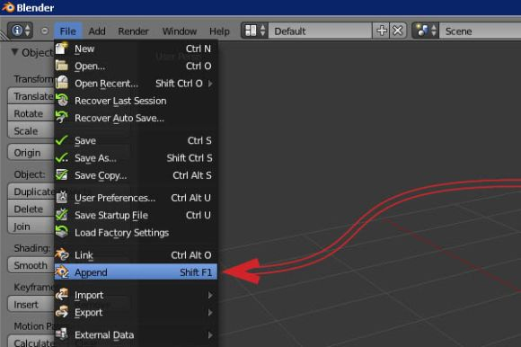 How to created, save and load in a self-made brush in Blender_3