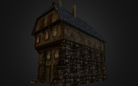 mediaeval house by DennisH2010