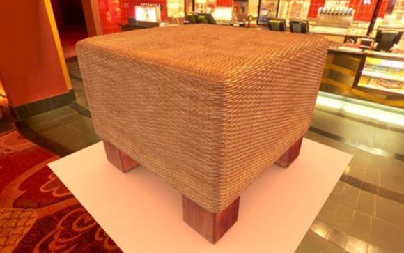 Wicker stool furniture