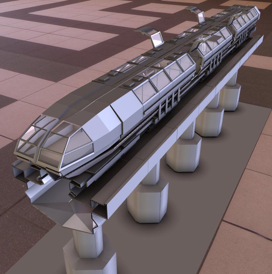 superconductor train concet 7