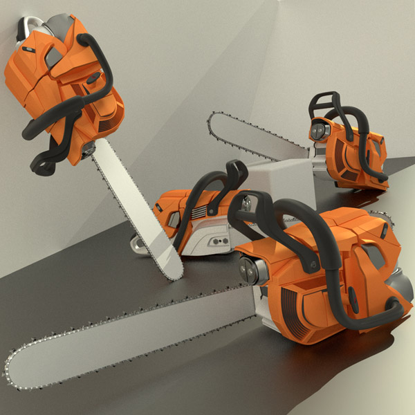 High poly Chainsaw