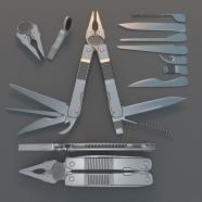 Multi Tool Rigged