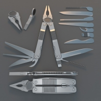 Multi Tool Rigged