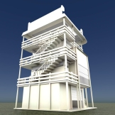 Tower-House Design Blender Game Engine (1)