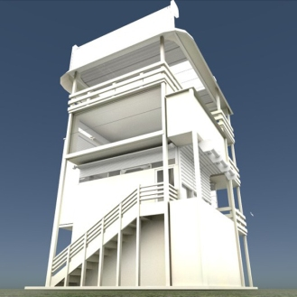 Tower-House Design Blender Game Engine (2)