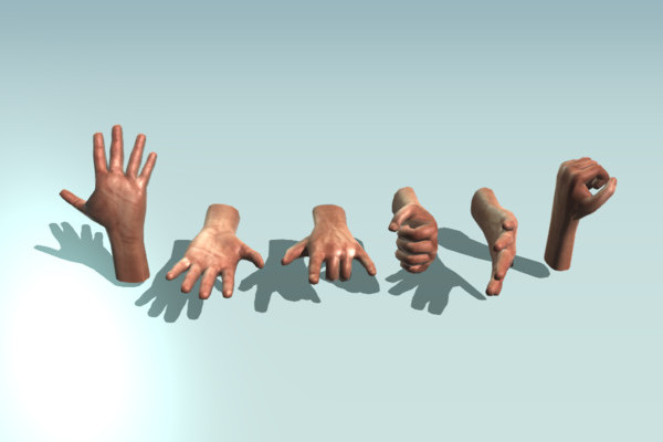 Hands Animated by DennisH2010