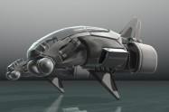 E-45 flying unit on Studio Verold