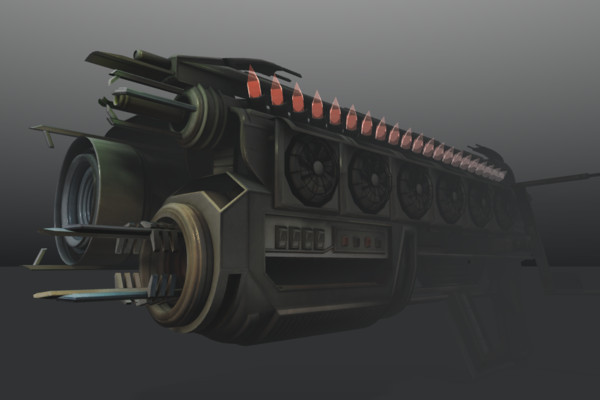 Multi-Gun (Concept) - animated