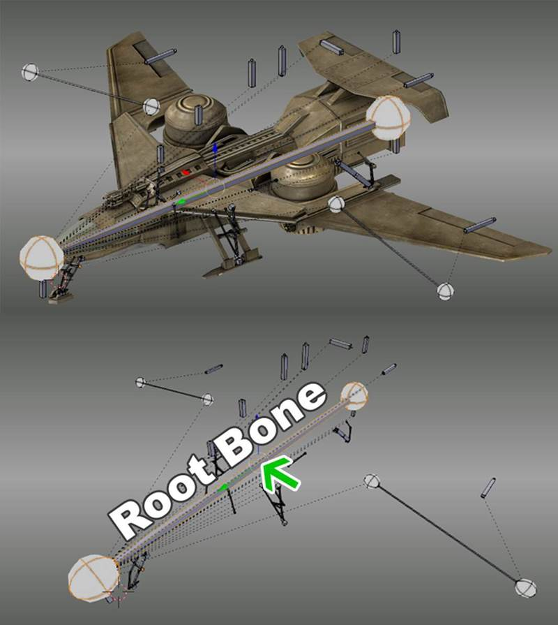 Tutorial Rigging and Animating a Combat Jet in Blender_ (11)