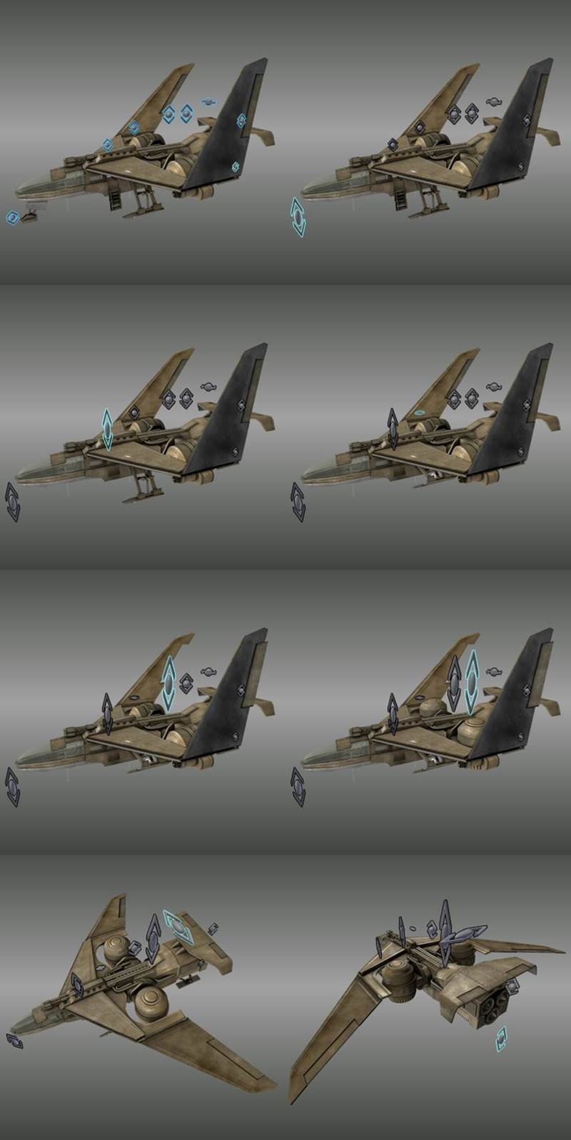 Tutorial Rigging and Animating a Combat Jet in Blender_ (13)