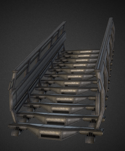 Modular Sci-Fi-Set (Stairs Components 1)