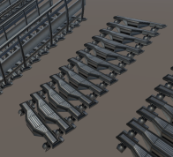 Modular Sci-Fi-Set (Stairs Components 2)