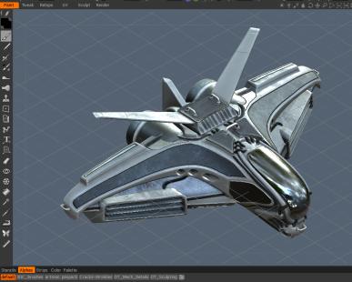 Intergalactic Spaceship (40)