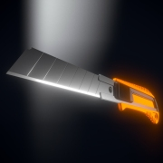 Box Cutter High-Poly Version