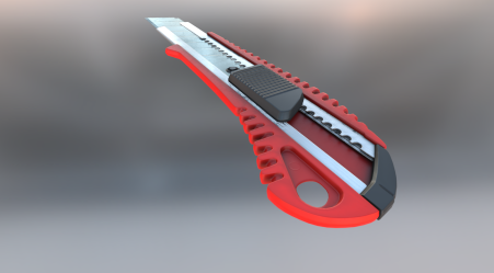Box Cutter Red Version