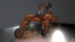 Five Wheeler Orange Version