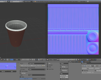 Plastic Cup Normal Map