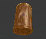 Plastic Cup Wireframe