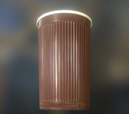 Plastic Cup Low-Poly