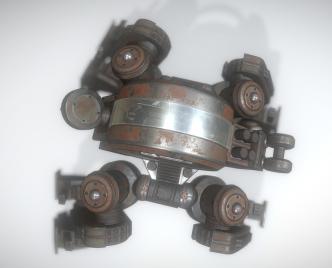 Terrain Walker Rusty Version