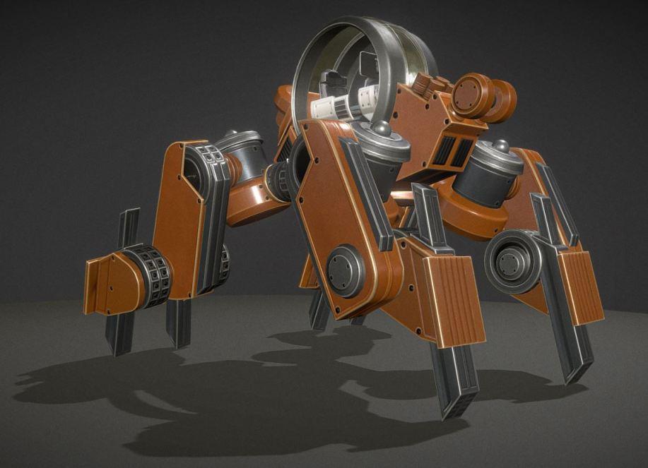 Terrain Walker Orange Version