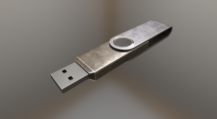 USB-Stick Brass Version
