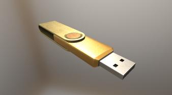 USB-Stick Gold Version