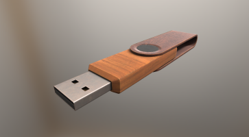 USB-Stick Wood Version