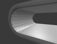 USB-Stick Low-Poly Wireframe