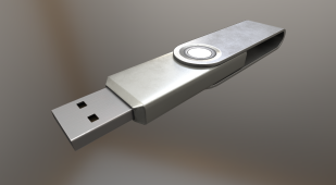 USB-Stick Alu Version