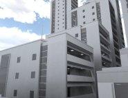 Residential Building 3d-Model