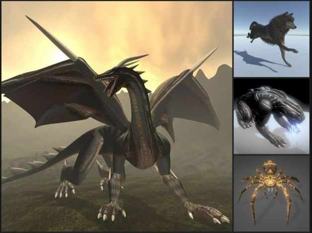 3d-creatures-and-animals
