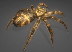 Low-Poly Spider Game-Ready