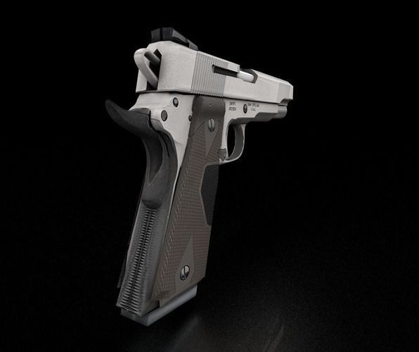 3d-model-gun-45-acp-smith-and-wesson-14