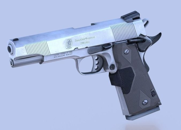 3d-model-gun-45-acp-smith-and-wesson-4