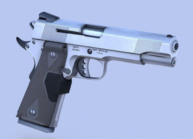 3d-model-gun-45-acp-smith-and-wesson-6