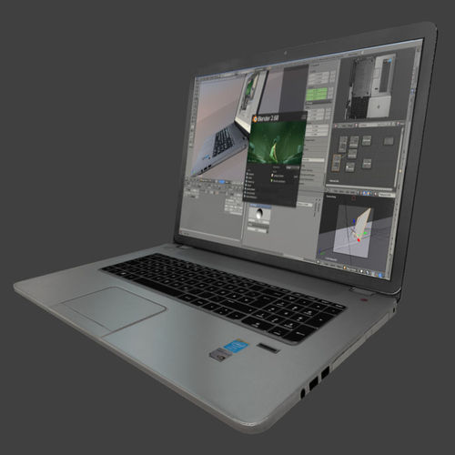 3d-models-electronics-computer-hp-notebook-low-poly-4