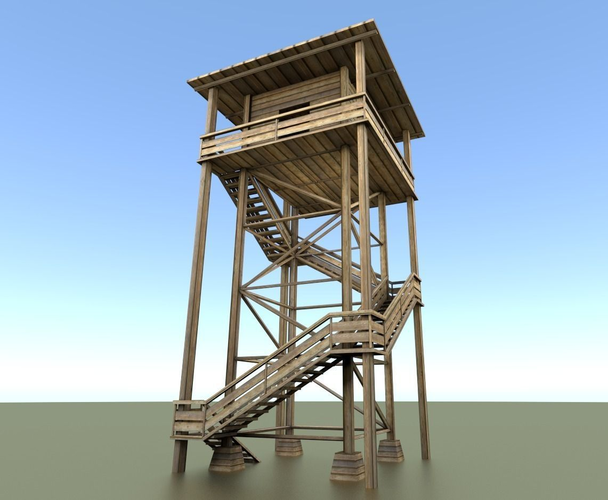 3d-models-exterior-landmark-watch-tower-made-of-wood-3
