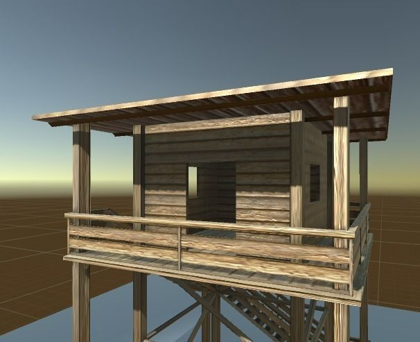 3d-models-exterior-landmark-watch-tower-made-of-wood-4