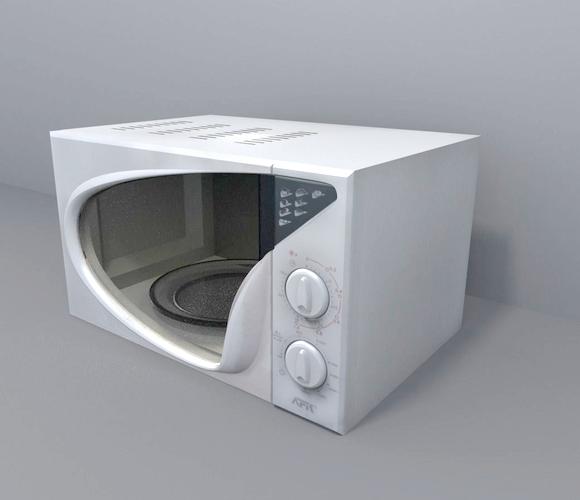 3d interior microwave