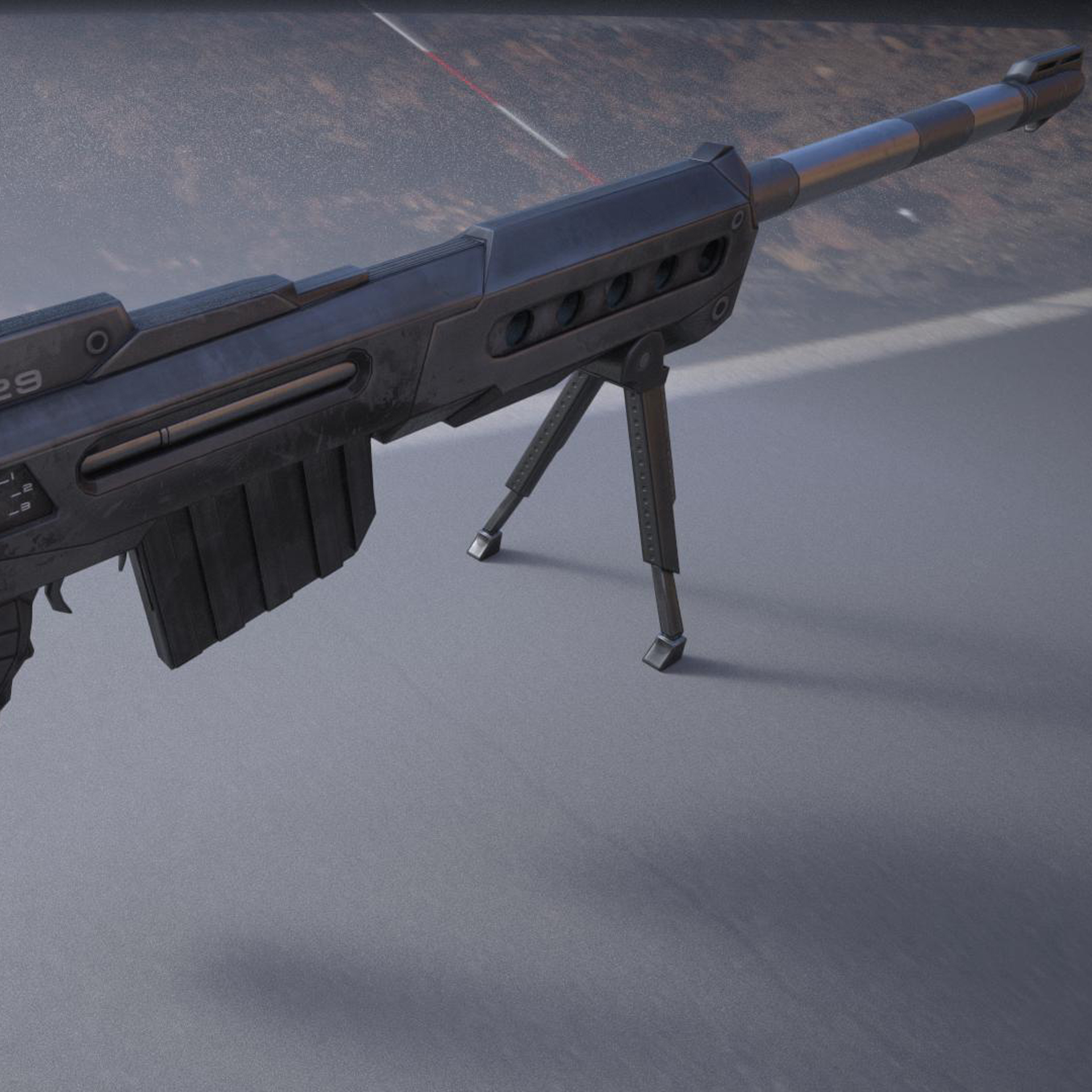 ksr sniper rifle (New)