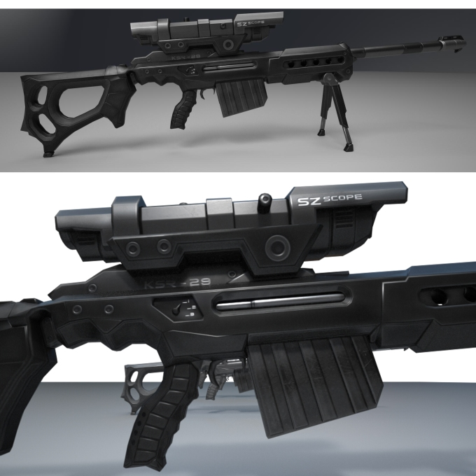 ksr sniper rifle New