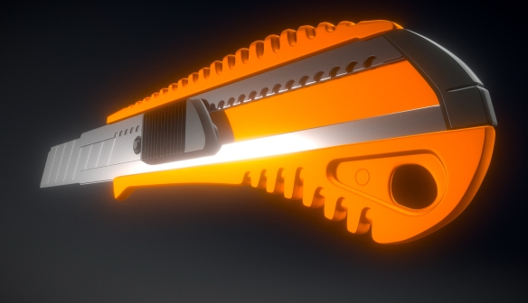 Box Cutter High-Poly Version (Download) | 3DHaupt